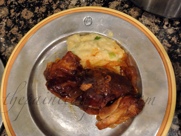 bbq chicken thepaintedapron.com