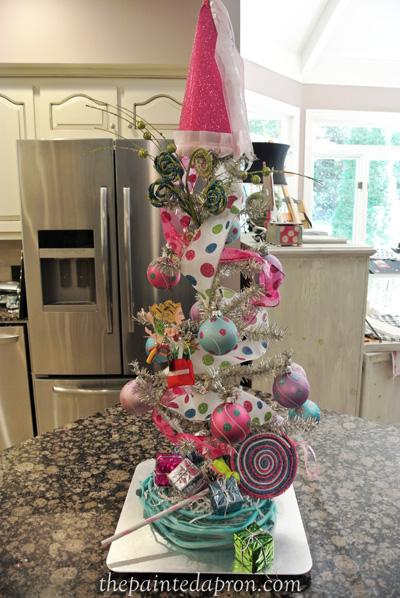 birthday tree thepaintedaproncom