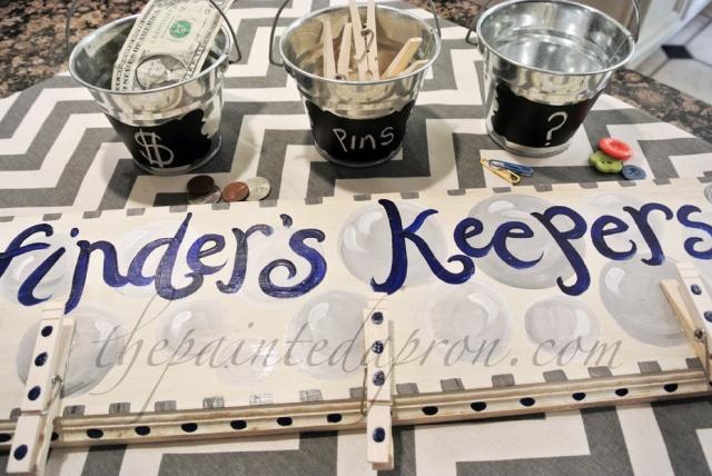 bucket organizers thepaintedapron.com