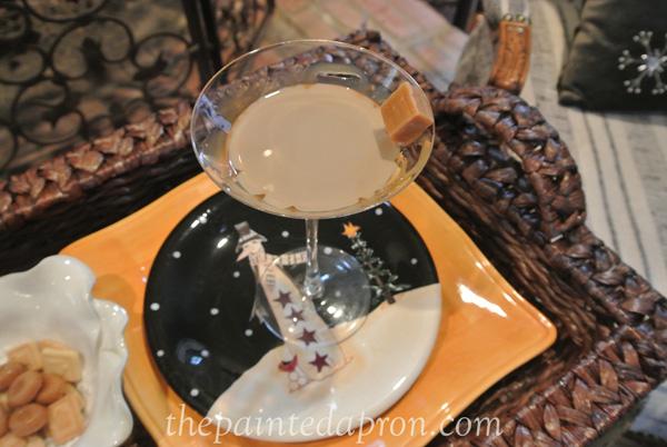 Butterscotch caramel martini thepaintedapron.com