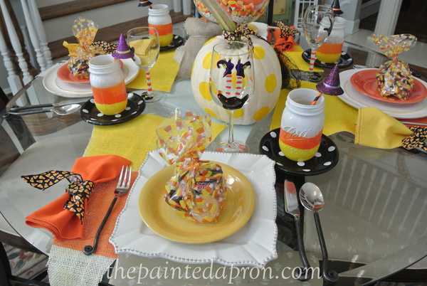 candy corn table 1 thepaintedapron.com