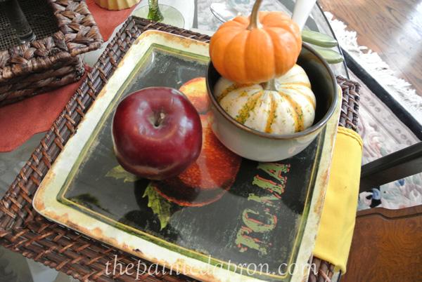 pumpkins and apples 5 thepaintedapron.com