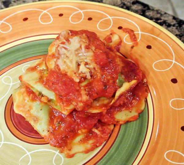 ravioli bake thepaintedapron.com