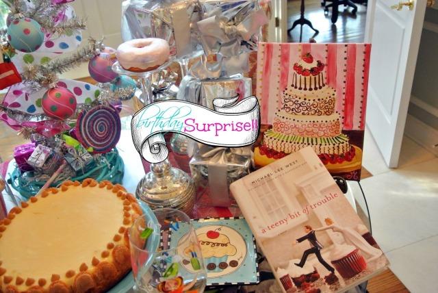 surprise party! thepaintedapron.com
