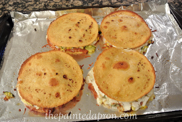 veggie quesadillas thepaintedapron.com