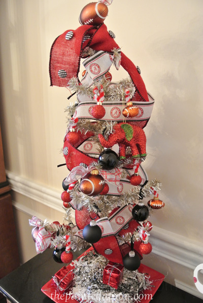 Creations, Football Tree | The Painted Apron