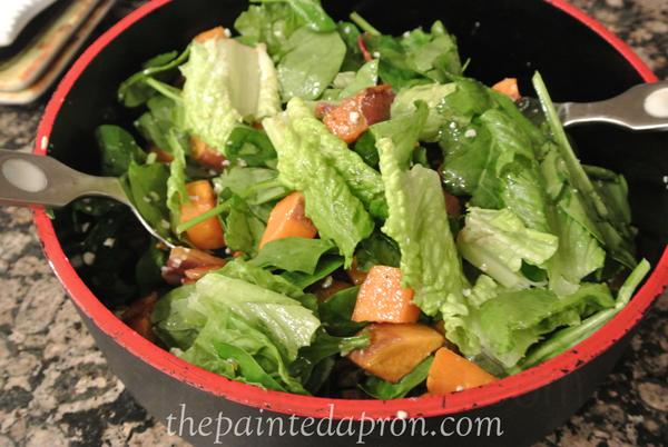 autumn salad thepaintedapron.com