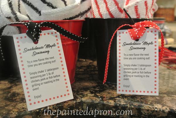 gift wrap idea thepaintedapron.com