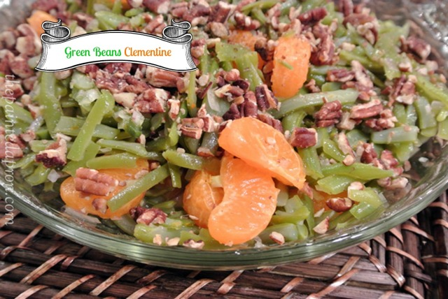green bean citrus salad thepaintedapron.com