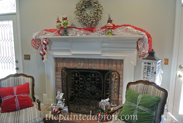 hearth for xmas thepaintedapron.com