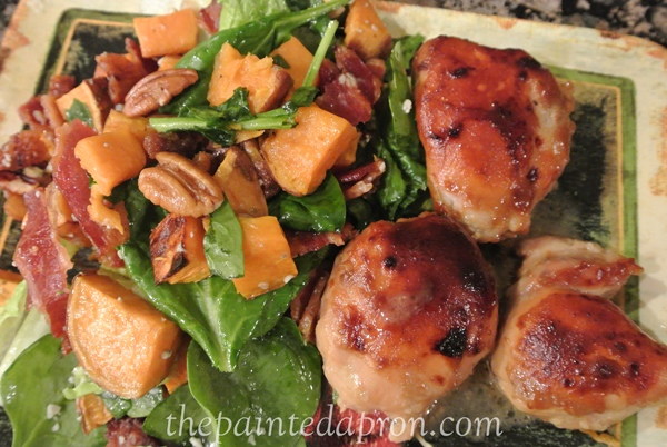 mustard maple chicken 2 thepaintedapron.com