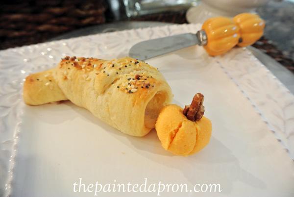 savory cornucopia roll thepaintedapron.com
