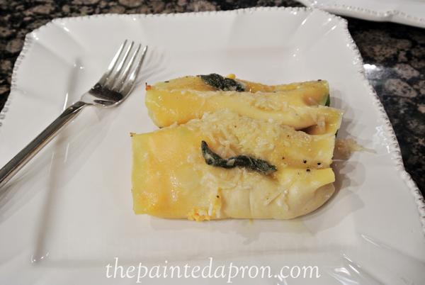 veggie cannelloni thepaintedapron.com