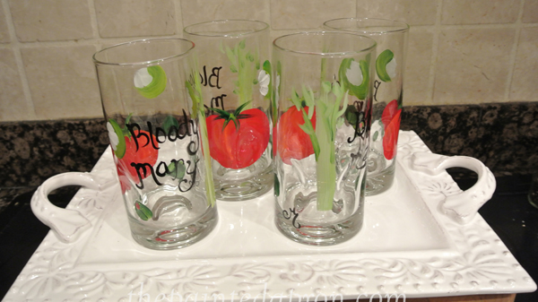 Bloody Mary glasses JMdesignsgallery.com