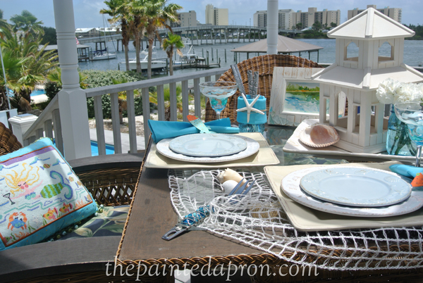 dining with mermaids thepaintedapron.com