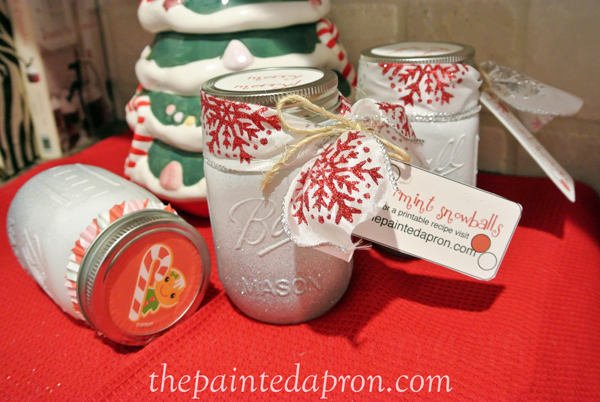gift jars thepaintedapron.com
