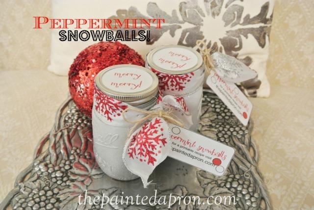 peppermint snowballs 7 thepaintedapron.com
