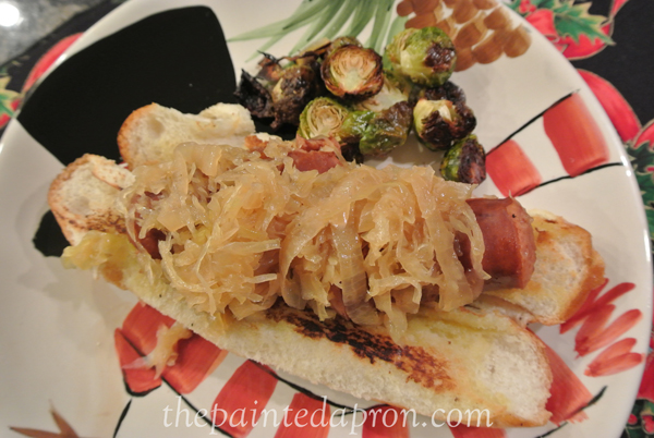slow cooker keilbasa thepaintedapron.com
