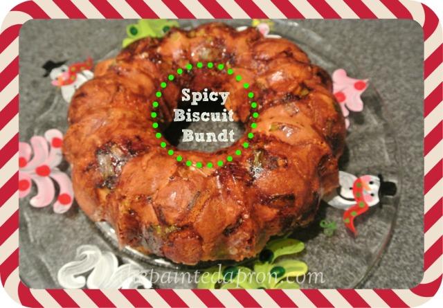 Spicy Biscuit Bundt thepaintedapron.com
