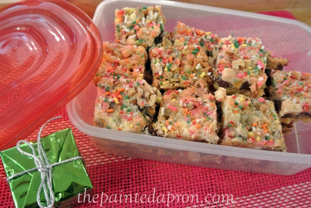 cookie bars thepaintedapron.com