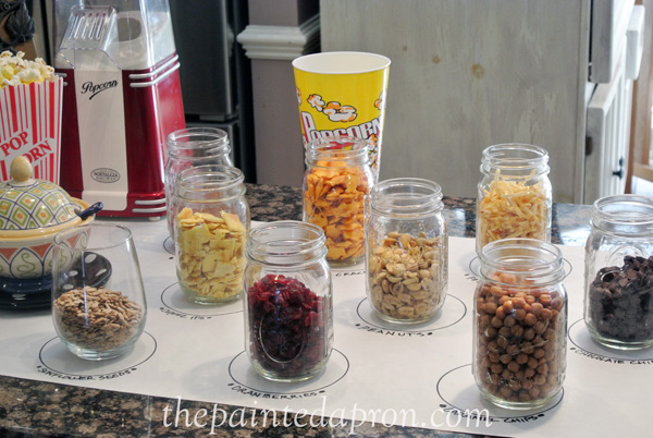 popcorn bar toppings 3 thepaintedapron.com