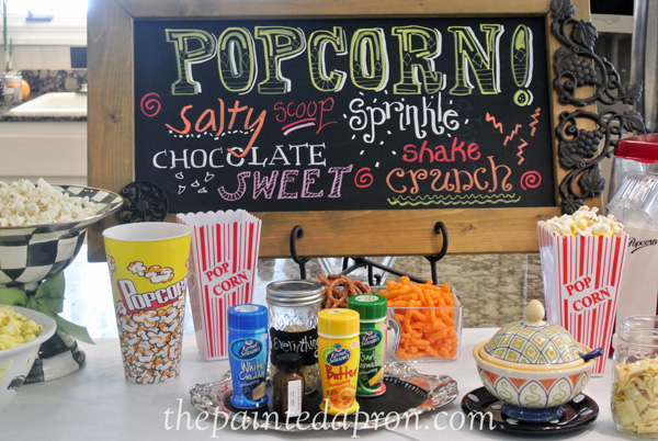 Popcorn party 2 thepaintedapron.com