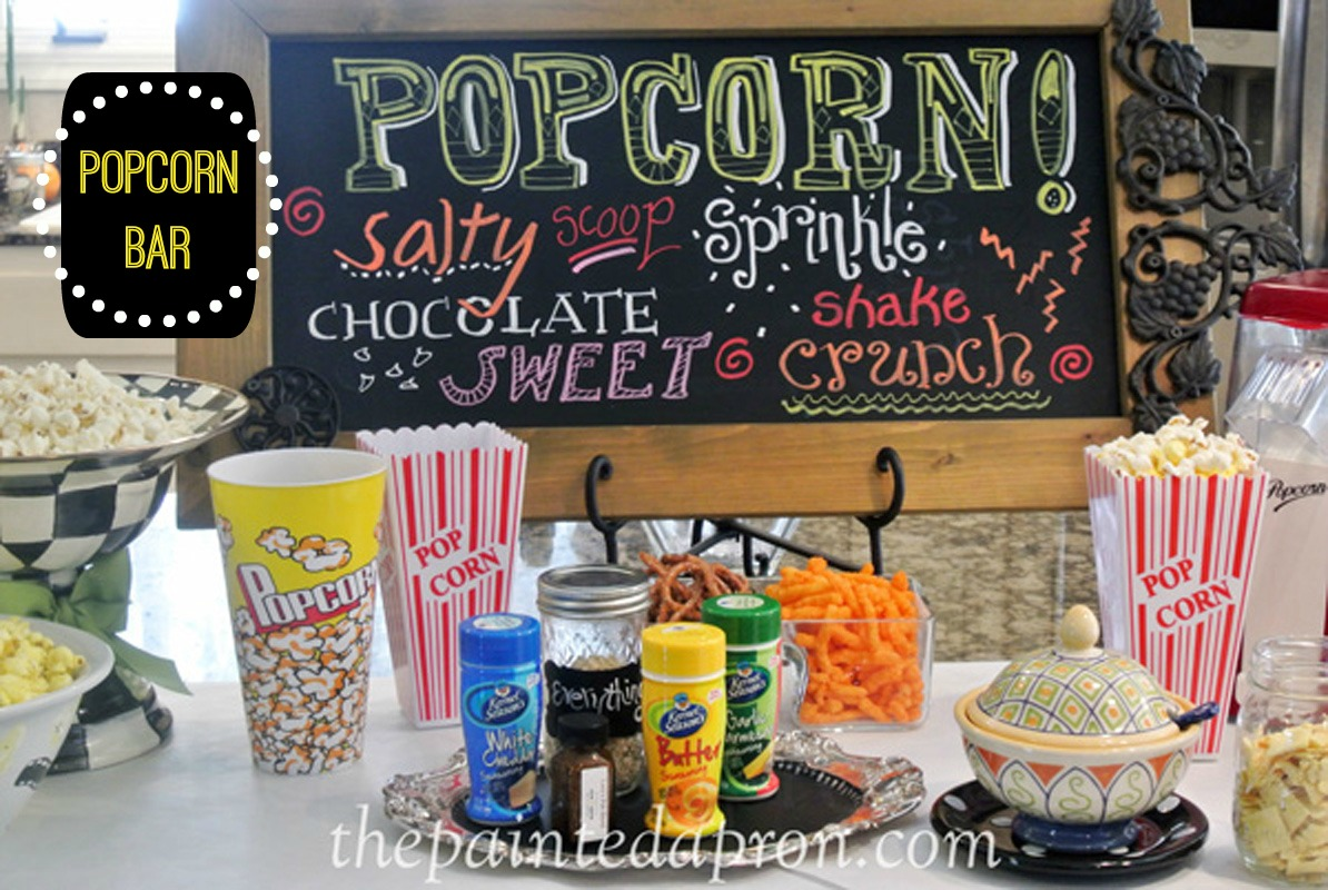 Exceptionnel Party Panache, Popcorn Bar