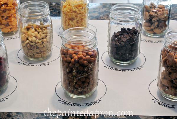 topping jars thepaintedapron.com