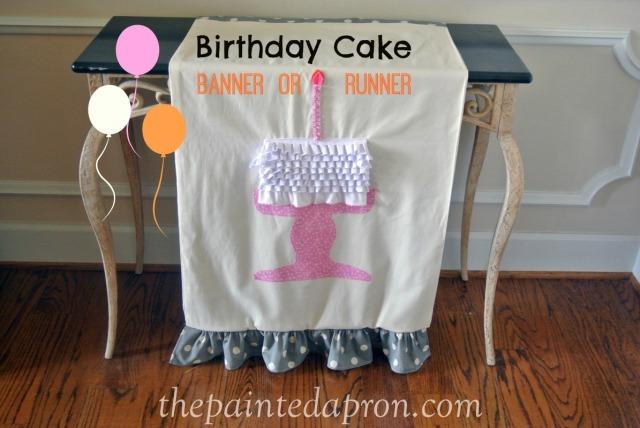 birthday banner thepaintedapron.com 1