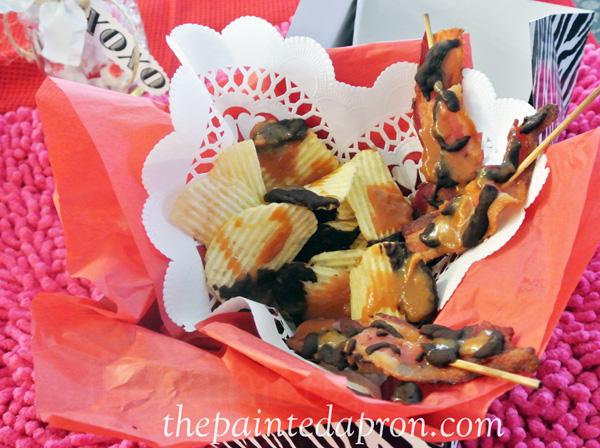 caramel and chocolate potato chips thepaintedapron.com