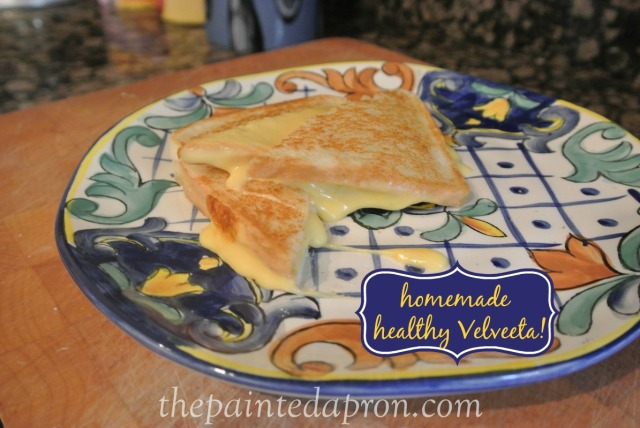 homemade Velveeta thepaintedapron.com