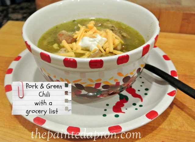 pork and green chili thepaintedapron.com