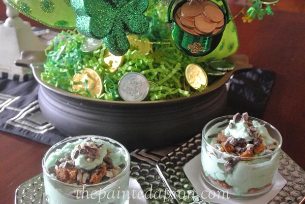 St. Pats Day dessert thepaintedapron.com