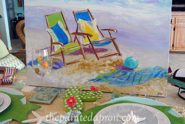 beach dreaming thepaintedapron.com