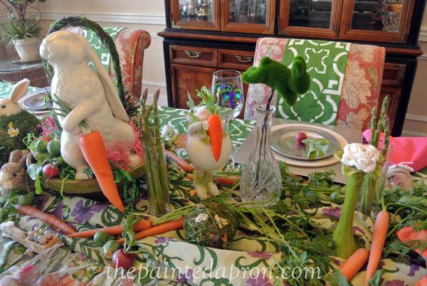 Bunny Garden thepaintedapron.com