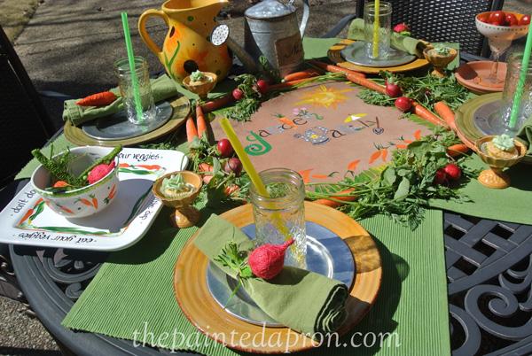 garden party thepaintedapron.com