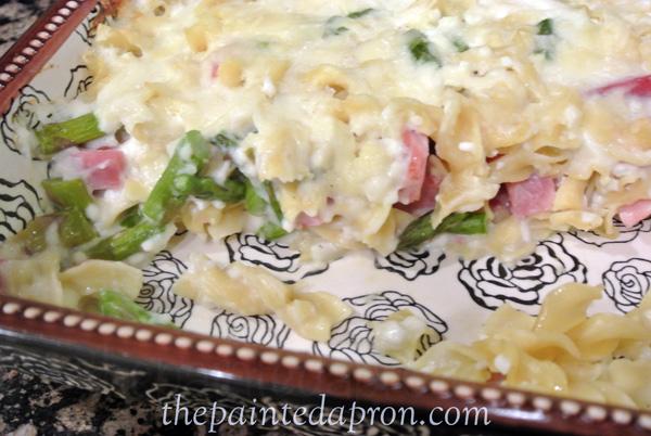 ham and asparagus thepaintedapron.com