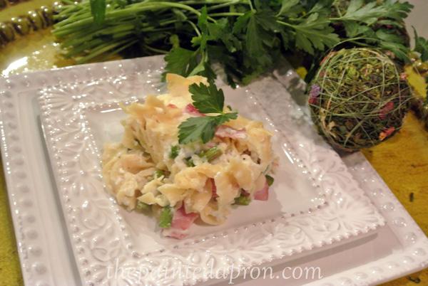 ham asparagus casserole thepaintedapron.com