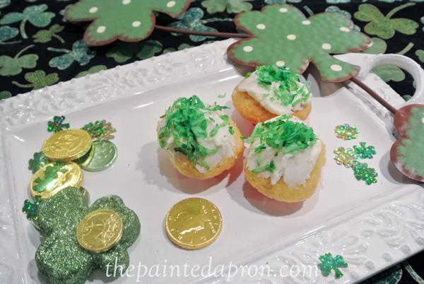 Irish cupcakes thepaintedapron.com