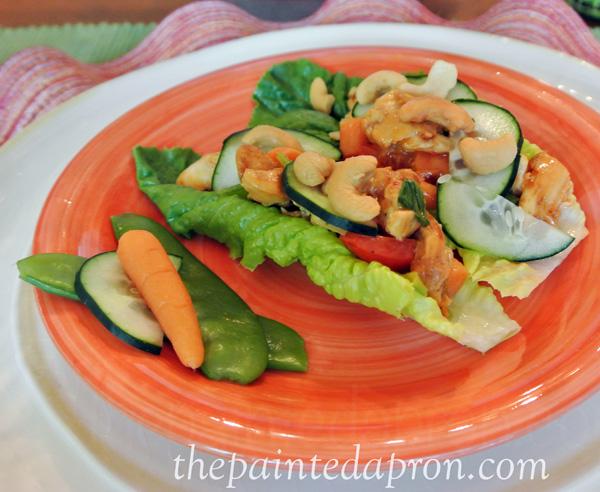 lettuce wraps thepaintedapron.com