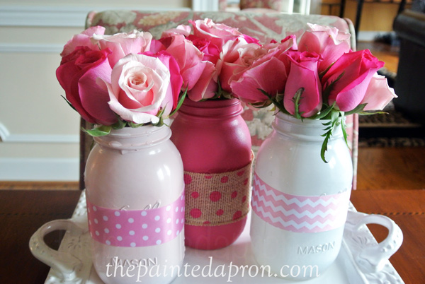 painted ribbon jars thepaintedapron.com