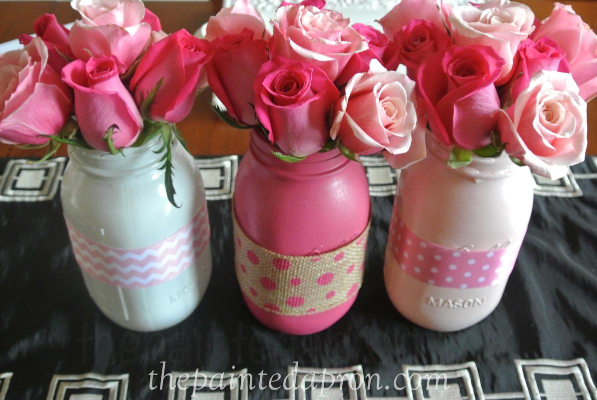 ribbon jar vases thepaintedapron.com