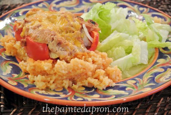 stuffed peppers ole 1 thepaintedapron.com