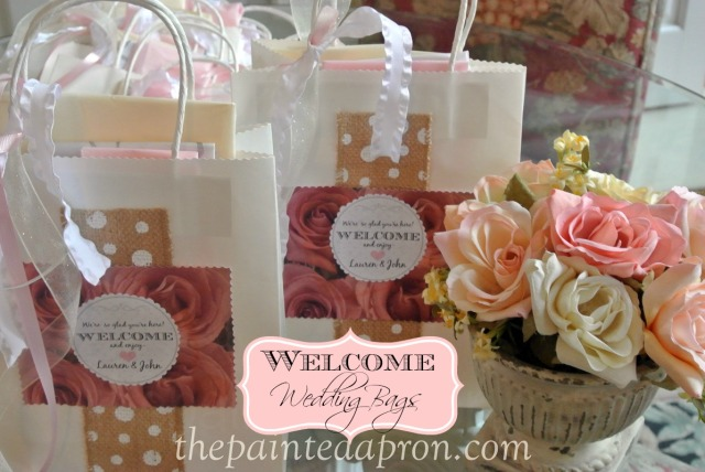 wedding bags thepaintedapron.com
