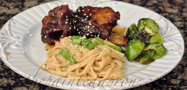 Asian noodles thepaintedapron.com