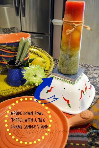 candle stand thepaintedapron.com