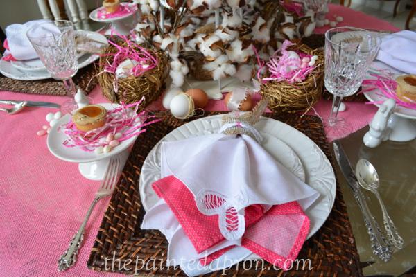 bunny napkin
