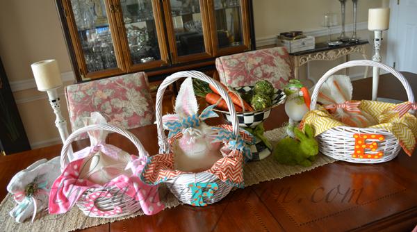 Easter baskets 1,2,3 thepaintedapron.com