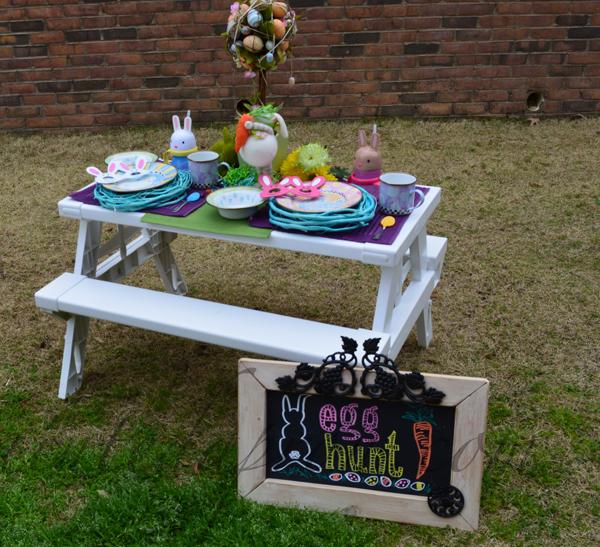 Easter egg hunt thepaintedapron.com