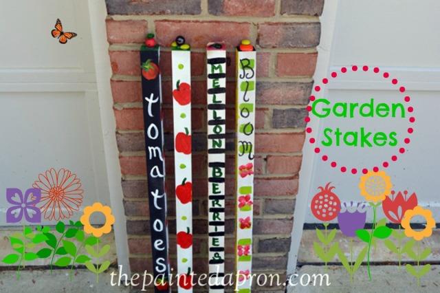 garden markers 1 thepaintedapron.com